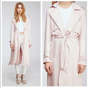 Forever 21 pink trench